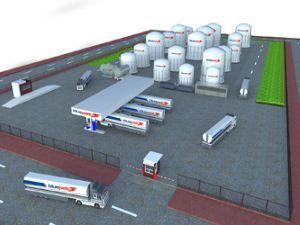 Ergaz & Bluepet akaryakıt depolama terminali kuruyor