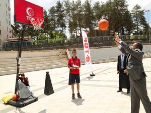 'Basketbol her yerde' organizasyonu Erzurum'da...