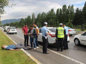 Erzurum'da zincirleme trafik kazası: 2 yaralı