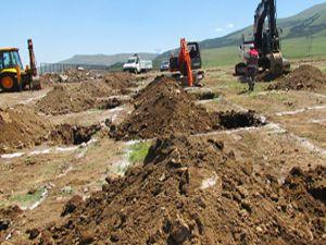 Büyükşehir Belediyesi mezarlık alanlarını büyütüyor