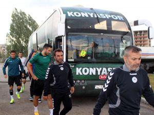 Torku Konyaspor Erzurum kampını tamamladı