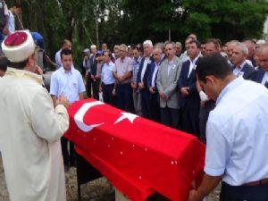 PKK'nın saldırısında şehit olan TCDD işçisi toprağa verild