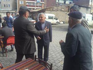 MHP'li Hızarcı'ya Oltu'da büyük ilgi