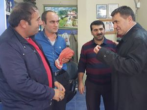 MHP'li Ertürk Çimen'e Narman'da büyük ilgi