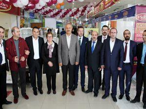 Erzurum'da mobilya, ev tekstili ve beyaz eşya fuarı açıldı