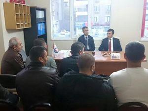 Sendikalardan Kamil Aydın'a destek
