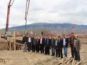 Güzelsu'da cami inşaatı
