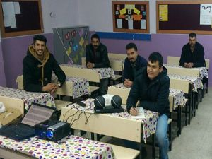Büyükşehir'in arıcılık kurslarına yoğun ilgi