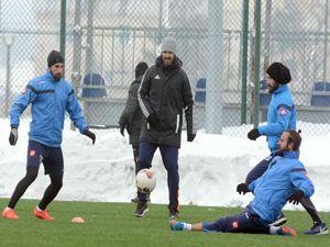 BB Erzurumspor Zonguldak Kömürspor hazırlıklarını sürdürüyor