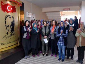 Erzurum'da kadınlardan dizilere tepki