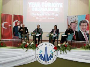 'Yeni Türkiye buluşmaları' büyük ilgi gördü