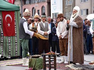 Erzurum'da Ahilik Haftası coşkuyla kutlandı