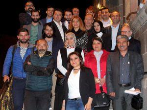 Milletvekili Taşkesenlioğlu sahurda basınla bir araya geldi