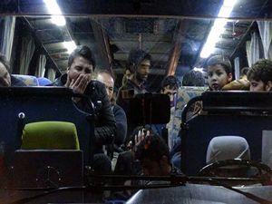 Erzurum'da Afganistan uyruklu 21 mülteci yakalandı