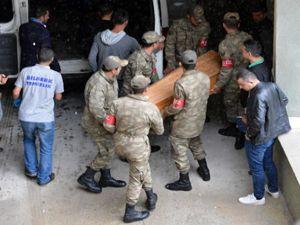 Tendürek şehitlerinin cenazeleri otopsi için Erzurum'a getirildi