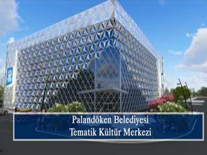 Palandöken Belediyesi Yıldızkent'te ikinci kültür merkezinin temelini atıyor...