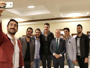 Sosyal medyanın fenomenlerinden Başkan Sekmen'e ziyaret