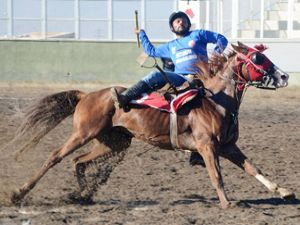 Erzurum'da Ciritte Süper Kupa Finali nefes kesti