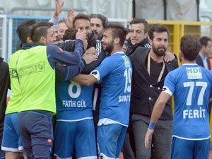 BB Erzurumspor'da Zonguldak galibiyeti sevinci