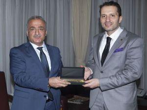 Dr. Fatih Erbakan, Rektör Çomaklı'yı ziyaret etti