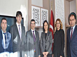 ASP Yöneticileri Vali Yardımcısı Özdemir ile vedalaştı