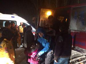 Erzurum Büyükşehir'den kurtarma operasyonu
