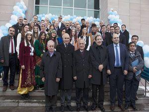 Bakan Elvan ve Akdağ, Atatürk Üniversitesi'ni ziyaret etti