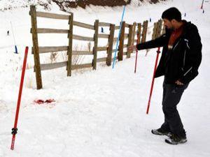 Erzurum'da izinsiz girilen kayak pistinde ölüme takipsizlik