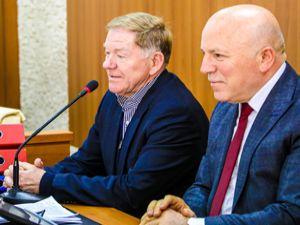 Saraybosna Belediye Başkanı Skaka Başkan Sekmen'i ziyaret etti