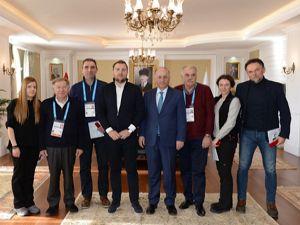 Saraybosna Belediye Başkanı Skaka'dan Vali Azizoğlu'na ziyaret