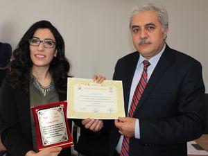 Assistt başarılı personeline onur belgesi verdi
