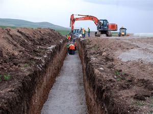 Erzurum Ortabahçe sulaması ile 63 bin dekar zirai alan sulanacak