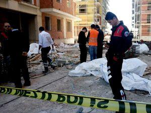 Erzurum'da 13. kattan düşen inşaat işçisi hayatını kaybetti