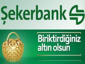 Şekerbank Erzurum Şubesi'nde 'Tasarrufun Altın Günü'