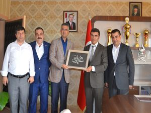 Milletvekili Kamil Aydın, ASP İl Müdürlüğünü ziyaret etti