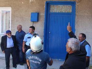 Erzurum'da polis ve itfaiye harekete geçti...