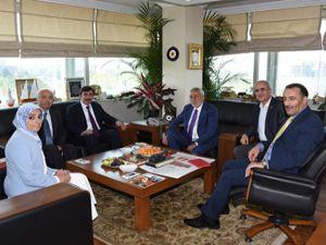 AK Parti Genel Başkan Yardımcısı Cevdet Yılmaz'dan TESK'e ziyaret