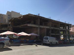 Saray Bosna Caddesi'nde çirkin görüntü