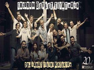 Erzurum Devlet Tiyatrosu 20. yılını kutluyor
