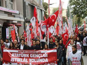 TGB üyelerinden Samsun'dan Ankara'ya 'İstiklal Yürüyüşü'