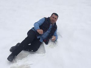 Doğu'da yüksek kesimlere kar yağdı
