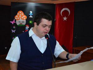 Erzurum GHSİM'den Down Sendromlu gence jest