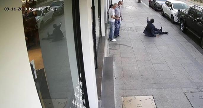 İstanbul'da dehşet anları...