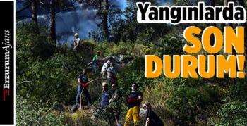 13 yangınla mücadele devam ediyor