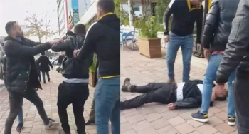 Antalya'da taciz şüphelisine meydan dayağı