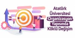 AÜ'de organizasyon yapısında köklü değişim