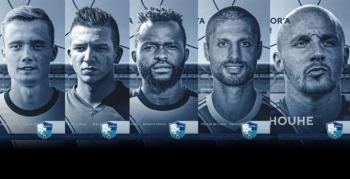 B.B. Erzurumspor 5 futbolcuyu kadrosuna kattı