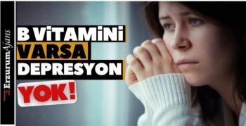 B vitamini eksikliği depresyona neden olabilir!