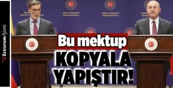 Bakan Çavuşoğlu'ndan ABD Başkanı Biden'a tepki