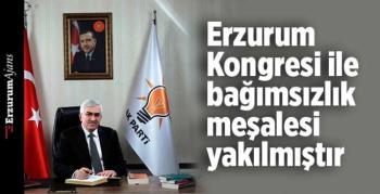 Başkan Öz'den Erzurum Kongresi mesajı